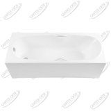Ванна акриловая AQUANET Dali 160x70