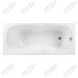 Ванна акриловая AQUANET Riviera 180x80