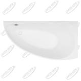 Ванна акриловая AQUANET AUGUSTA 170x90 Правая