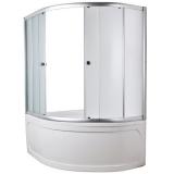 Штора на ванну MarkaOne Aura 150x105 MS