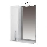 Зеркало-шкаф Triton Диана 55 см левый