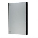 Зеркальный шкаф Triton Эко 50 см черный