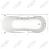 Ванна акриловая BAS Ибица 150x70