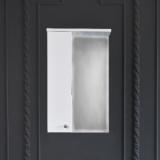 Зеркало-шкаф WL Оптима 40 см левый
