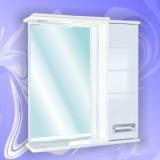 Зеркало-шкаф Андария Андреа 75 см правый