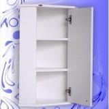 Зеркальный шкаф Андария Сильвер 36 см правый