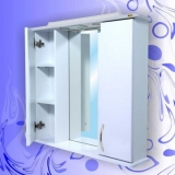 Зеркало-шкаф Андария Байкал 75 см