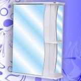 Зеркальный шкаф Андария Бриз 55 см левый