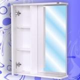Зеркальный шкаф Андария Гамма 55 см левый