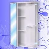 Зеркальный шкаф Андария Ника 50 см левый