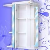 Зеркальный шкаф Андария Шторм 55 левый