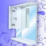 Зеркало-шкаф Андария Стелс 65 см левый