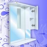 Зеркало-шкаф Андария Стелс 65 см правый