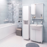 Зеркало-шкаф WL Blumarin Виктория 60 см левый