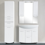 Зеркало-шкаф WL Волна 85 см