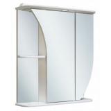 Зеркальный шкаф Runo Бэлла 65 см правый