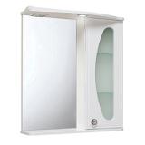 Зеркало-шкаф Runo Линда Люкс 65 см правая