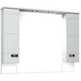 Шкаф зеркальный Runo Турин 105 см