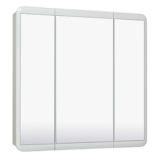 Зеркальный шкаф Runo Эрика 80 см