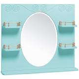 Зеркало Винтаж 85 лазурное