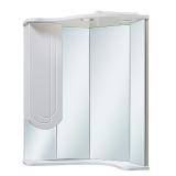 Зеркало-шкаф Runo Бис 55 см левый