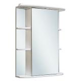 Зеркальный шкаф Runo Гиро 55 см правый