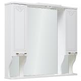 Зеркало-шкаф Runo Кантри 85 см