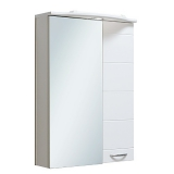 Зеркальный шкаф Runo Кипарис 50 см правый