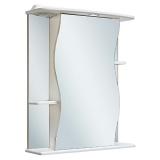 Зеркальный шкаф Runo Лилия 55 см правый