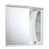 Зеркало-шкаф Runo Линда Люкс 75 см правый