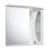 Зеркало-шкаф Runo Линда Люкс 85 см правый