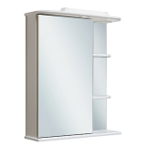 Зеркальный-шкаф Runo Магнолия 60 см левый