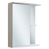 Зеркальный шкаф Runo Николь 55 см левый