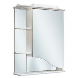 Зеркальный шкаф Runo Римма 60 см правый