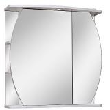 Зеркальный шкаф Runo Ринг 75 см