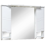Зеркало-шкаф Runo Стиль 105 см