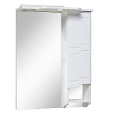 Зеркало-шкаф Runo Стиль 75 см правый