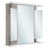 Зеркальный шкаф Runo Валенсия 75 см