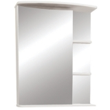 Зеркальный шкаф Merkana Керса 01 55 см левый