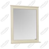 Зеркало Акватон Леон 65 см дуб бежевый