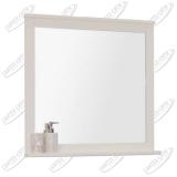 Зеркало Акватон Леон 80 см дуб белый