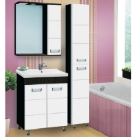 Зеркало-шкаф Vako Флора 70 см правый