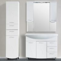 Зеркало-шкаф WL Волна 105 см