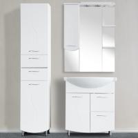 Зеркало-шкаф WL Волна 75 см левый