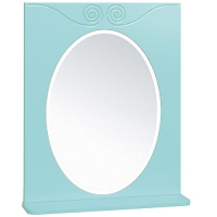 Зеркало Винтаж 60 лазурное