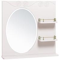 Зеркало Винтаж 75 белое