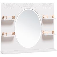 Зеркало Винтаж 85 белое
