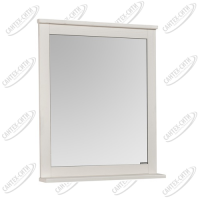 Зеркало Акватон Леон 65 см дуб белый