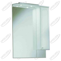 Зеркало-шкаф Акватон Майами 75 см правая