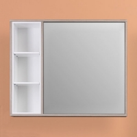 Зеркало-шкаф WL Blumarin Орландо 85 см
